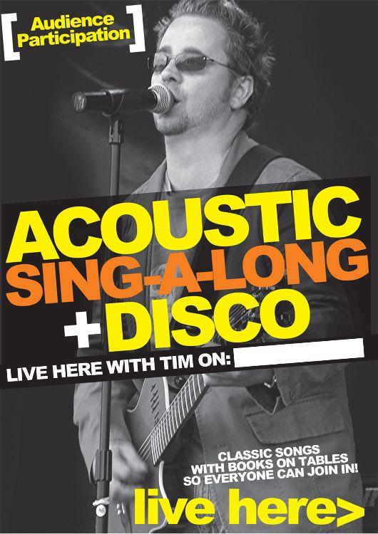 Tim's sing-a-long